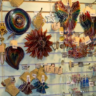 Trinkets available in independent shops.
