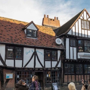Gert & Henry's restaurant in a Tudor building at 4 Jubbergate.