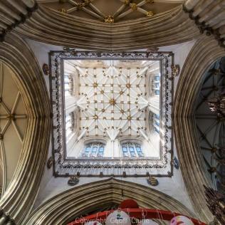 York Minster central tower.