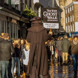 The York Ghost Walk is well advertised.