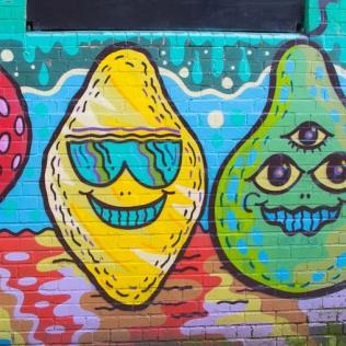 More cheerful Graffiti in Humber Street.