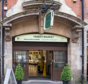 The covered Trinity Market.