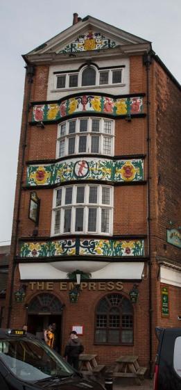 Empress pub in Alfred Gelder Street.