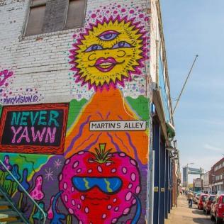 Graffiti in Humber Street.