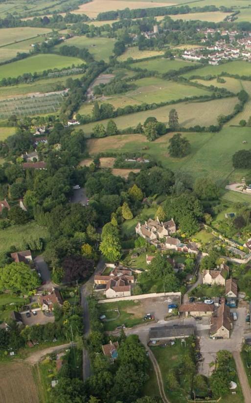 Upton Cheney village.